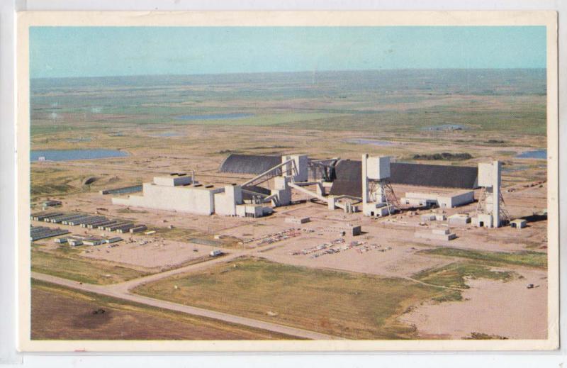 Central Canada Potash Co, Mine & Plant, Colonsay Sas
