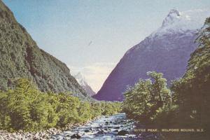 Mitre Park , Milford Sound , New Zealand , 1982