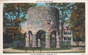 Rhode Island Newport Ancient Viking Tower The Old Stone Mill