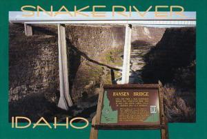 Hansen Bridge Snake River Idaho