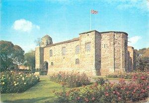 Postcard United Kingdom colchester museum castle largest norman keep britain