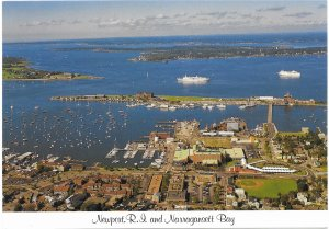 US. Newport, R.I., and Narragansett Bay.   Unused