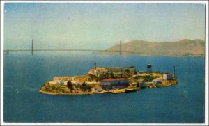 Alcatraz island, San Francisco Bay CA