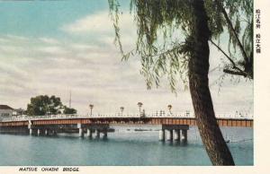 Matsue Ohashi Bridge, Matsue City, Shimane Prefecture, Japan