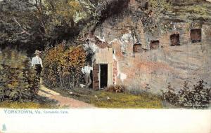 Yorktown Virginia Cornwallis Cave Exterior Antique Postcard K30625