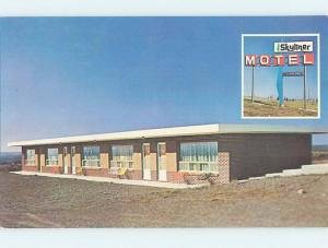 Unused Pre-1980 MOTEL SCENE Moncton New Brunswick NB B6511