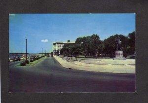 SC The Battery White Point Gardens Hotel Charleston South Carolina Postcard