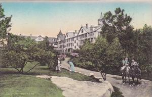 New York Ulster County Approach To The Cliff House From The Putting Green Ele...