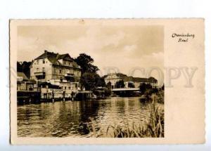 173696 GERMANY ORANIENBURG Havel Vintage photo postcard