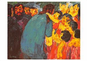 Emil Nolde - Christ among the Children