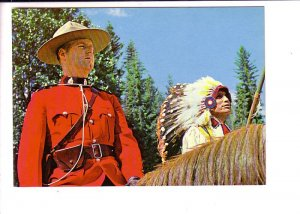Royal Canadian Mounted Police, RCMP Canada, Officer and Indian Chief