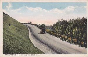 Drive Around Cobb's Hill Park NY, Rochester, New York - WB
