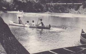 Arkansas Hardy Y W C A Camp Miramichee Canoeing Artvue