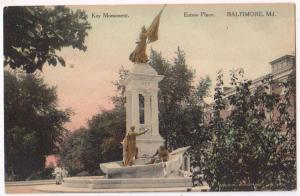 Key Monument, Eutaw Place, Baltimore MD