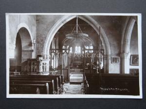 Yorkshire MEXBRO CHURCH Mexborough - Old RP Postcard by Haigh Bros of Barnsley