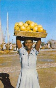 Haiti Post card Old Vintage Antique Postcard Tantine Port-au-Prince Unused
