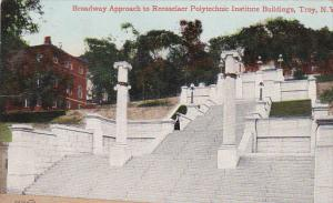 Broadway Approach to Rensselaer Polytechnic Institute Buildings,  Troy,   New...