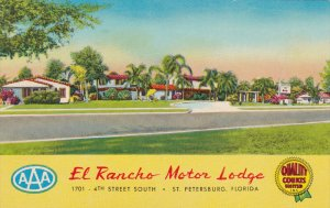 ST. PETERSBURG , Florida , 50-60s ; El Rancho Motor Lodge