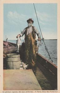 A Hardy Deep Sea Fisherman - New Brunswick, Canada - WB