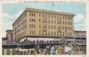 New Jersey Atlantic City Hotel New  Belmont On the Boardwalk At Ocean Avenue ...