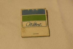 Wilbert 20 Strike Matchbook Advertising