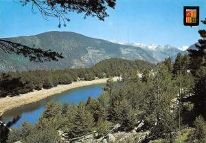 Andorra Llac d'Engolasters Lake Landscape Mountains