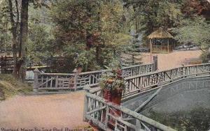 Maine Portland Maine The Trout Pond River Ton Park 1911