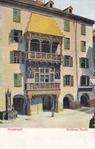 Innsbruck, Goldness Dachl, Tirol, Austria, 00-10s
