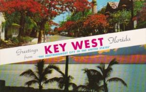 Florida Greetings From Key West The Southernmost City In The U S