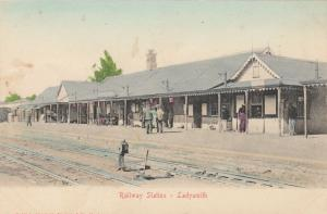 LADYSMITH , South Africa, 1901-07 ; Railroad Station