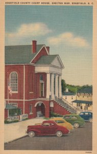 EDGEFIELD , South Carolina , 1930-40s ; Edgefield County Court House