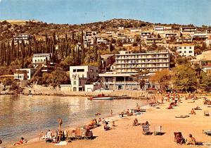 Yugoslavia Old Vintage Antique Post Card Hotel Kompas Dubrovnik 1979