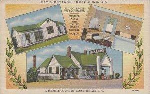 South Carolina Bennettsville Pats Cottage Court