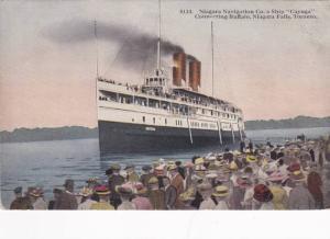Niagara Navigation Co´s Steamer CUYUGA , 00-10s :  #6
