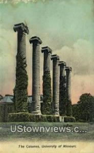 Columns, University of Missouri Columbia MO 1910