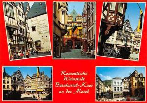 Romantische Weinstadt Bernkastel-Kues an der Mosel Strasse