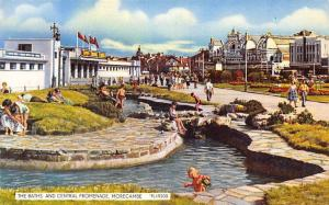 The Baths and Central Promenade, Morecambe 1962