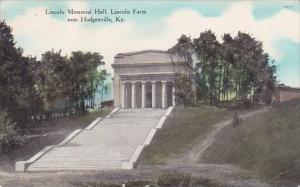 Kentucky Hodgenville Lincoln Memorial Hall Lincoln Farm