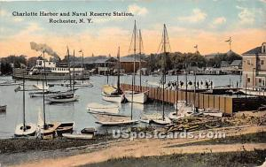 Charlotte Harbor & Naval Reserve Station Rochester NY 1913