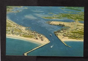 RI Greetings From Rhode Island Galilee Jerusalem Pt Judith Postcard Steamer