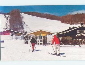 Unused Pre-1980 SKIING ON MOUNT MANSFIELD Stowe Vermont VT ho8403