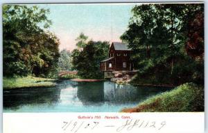 NORWALK, Connecticut  CT   GUTHRIE'S MILL  1907   Postcard
