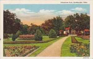 Oklahoma Bartlesville Johnstone Park Curteich