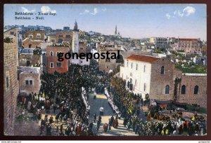 dc984 - PALESTINE Bethlehem 1930s Christmas Street Celebration