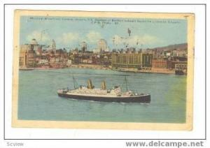 Steamship Duchess Of Bedord, Waterfront, Montreal, Quebec, Canada, 20-40s