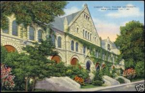 New Orleans L.A., Tulane University, Gibson Hall (1953)