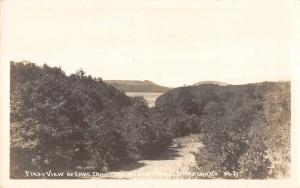 Brandon Vermont Lake Dunmore Real Photo Antique Postcard K98993