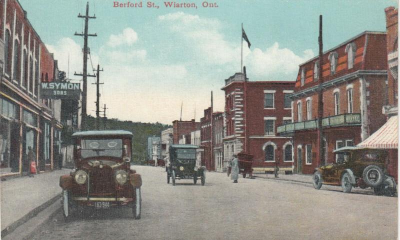 WIARTON , Ontario , Canada , 1910s ; Berford Street