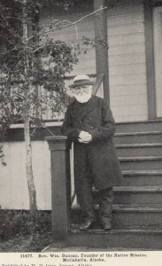 METLAKATLA, Alaska, 1930-40s; Rev. Wm. Duncun, Founder of the Native Mission