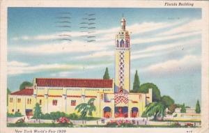 Florida Building New York World's Fair 1939